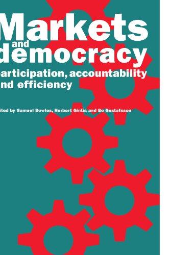 9780521064118: Markets and Democracy: Participation, Accountability and Efficiency
