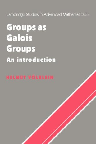 9780521065030: Groups as Galois Groups: An Introduction (Cambridge Studies in Advanced Mathematics)