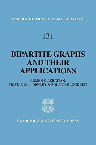9780521065122: Bipartite Graphs and their Applications (Cambridge Tracts in Mathematics)