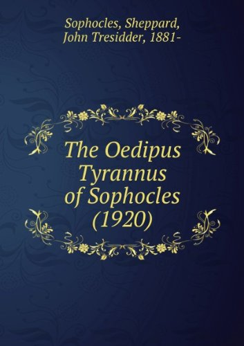 9780521065221: Oedipus Tyrannus (Cambridge Elementary Classics: Greek)