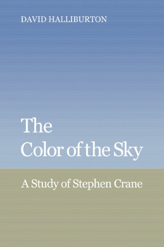 9780521065658: The Color of the Sky: A Study of Stephen Crane (Cambridge Studies in American Literature and Culture)