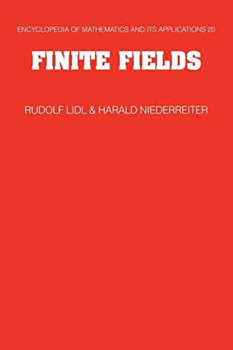 9780521065672: Finite Fields (Encyclopedia of Mathematics and its Applications)