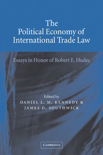 9780521065917: The Political Economy of International Trade Law: Essays in Honor of Robert E. Hudec
