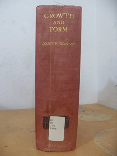 9780521066228: On Growth and Form