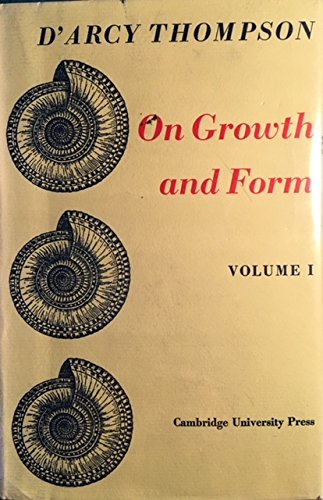 On Growth and Form (0521066220) by D'Arcy W. Thompson