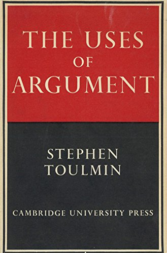 9780521066440: The Uses of Argument