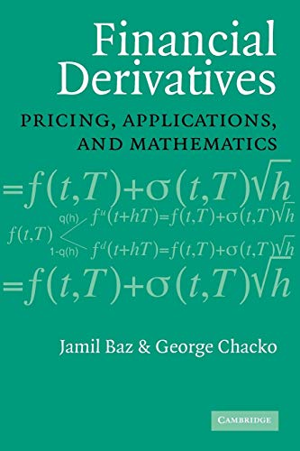 9780521066792: Financial Derivatives: Pricing, Applications, and Mathematics