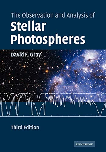 9780521066815: The Observation and Analysis of Stellar Photospheres