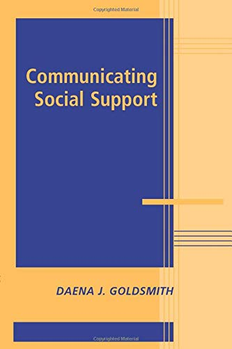 9780521066860: Communicating Social Support (Advances in Personal Relationships)