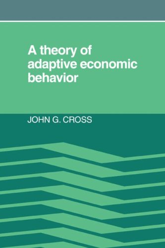 9780521067119: A Theory of Adaptive Economic Behavior