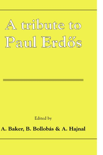 9780521067331: A Tribute to Paul Erdos