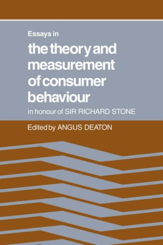 9780521067553: Essays in the Theory and Measurement of Consumer Behaviour: In Honour of Sir Richard Stone