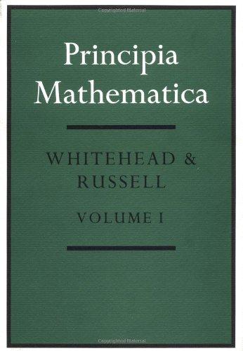 9780521067911: Principia Mathematica 3 Volume Set: v. 1-3