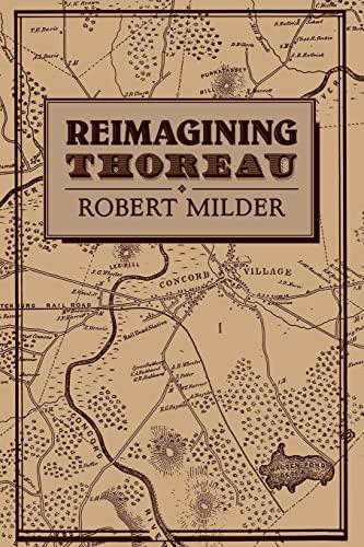 9780521068369: Reimagining Thoreau (Cambridge Studies in American Literature and Culture)