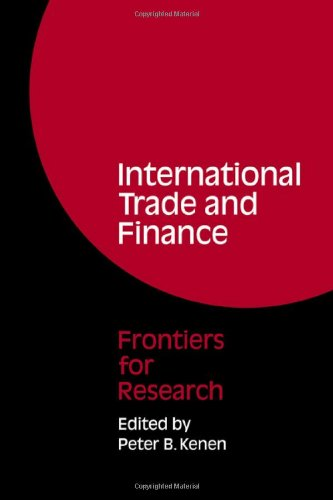 9780521068741: International Trade and Finance: Frontiers for Research