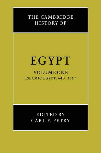9780521068857: The Cambridge History of Egypt 2 Volume Set: Cambridge History of Egypt v1