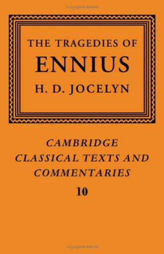 9780521069113: The Tragedies of Ennius: The Fragments