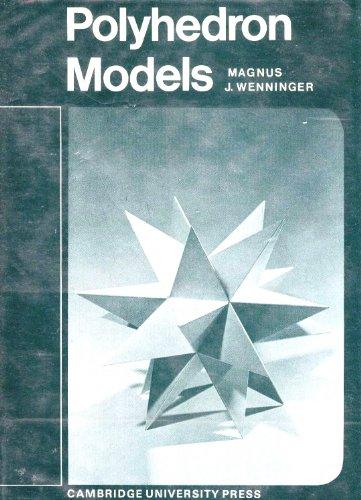 9780521069175: Polyhedron Models