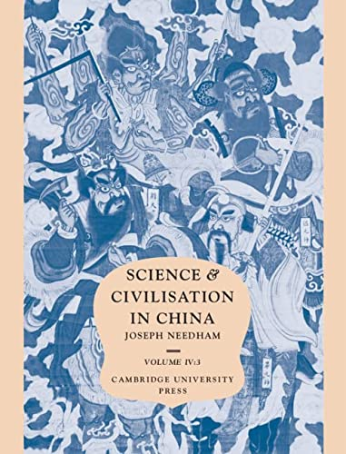 9780521070607: Science and Civilisation in China, Vol. 4: Physics and Physical Technology, Part 3: Civil Engineering and Nautics