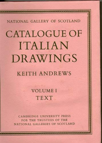 Catalogue of italian drawings. National Gallery of Scotland.