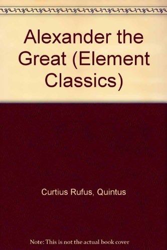 9780521071550: Alexander the Great (Element Classics)