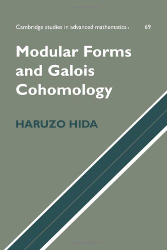 9780521072083: Modular Forms and Galois Cohomology (Cambridge Studies in Advanced Mathematics)