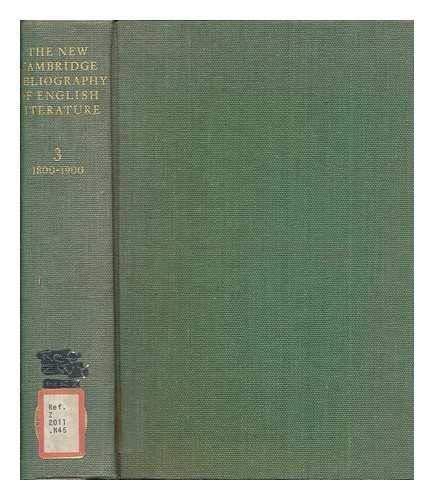9780521072557: The New Cambridge Bibliography of English Literature: Volume 3, 1800-1900