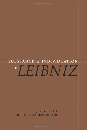 9780521073035: Substance and Individuation in Leibniz