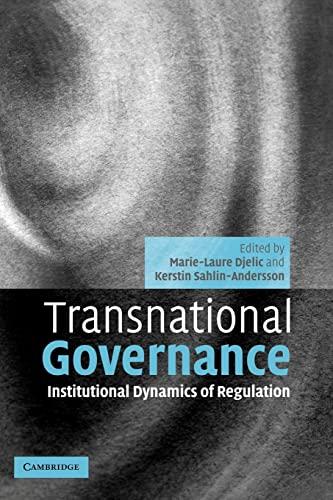 9780521073066: Transnational Governance: Institutional Dynamics of Regulation: 0