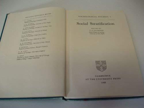 Social Stratification (Sociological Studies #1)