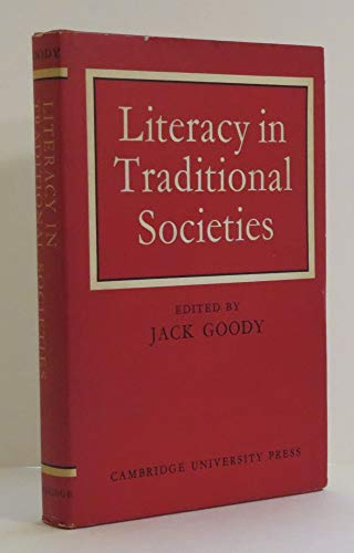 9780521073455: Literacy in Traditional Societies