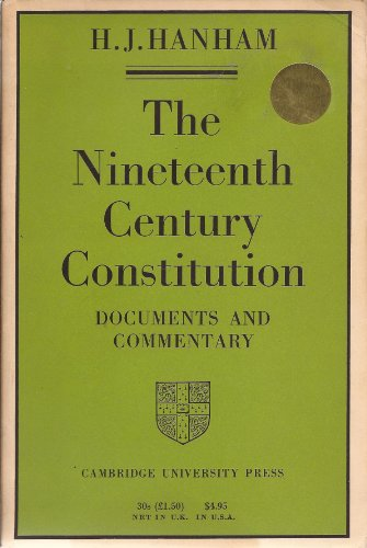 9780521073516: The Nineteenth-Century Constitution 1815-1914: Documents and Commentary