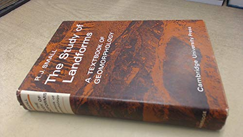9780521074490: The Study of Landforms: A Textbook of Geomorphology