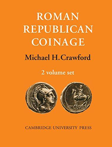Roman Republican Coinage (Hardback): Michael H. Crawford