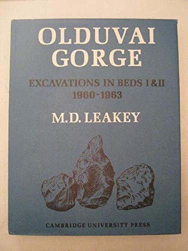 9780521077231: Olduvai Gorge: Volume 3, Excavations in Beds I and II, 1960-1963