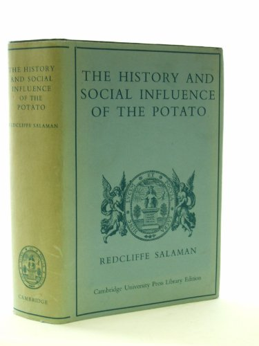 9780521077835: The History and Social Influence of the Potato (Cambridge University Press library editions)