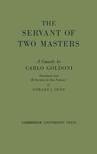 9780521078504: The Servant of Two Masters
