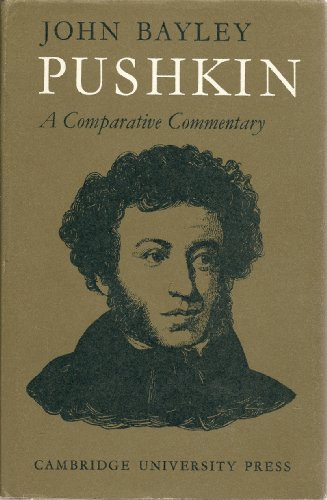 9780521079549: Pushkin: A Comparative Commentary (Major European Authors Series)