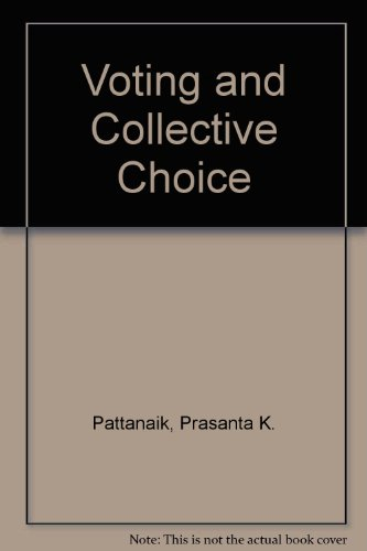 9780521079617: Voting and Collective Choice