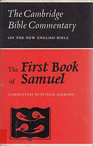 9780521079655: The First Book of Samuel (Cambridge Bible Commentaries on the Old Testament)