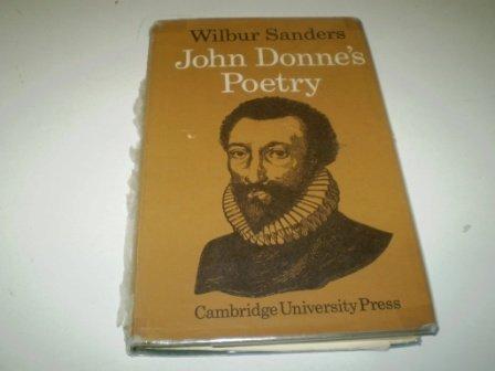9780521079686: John Donne's Poetry