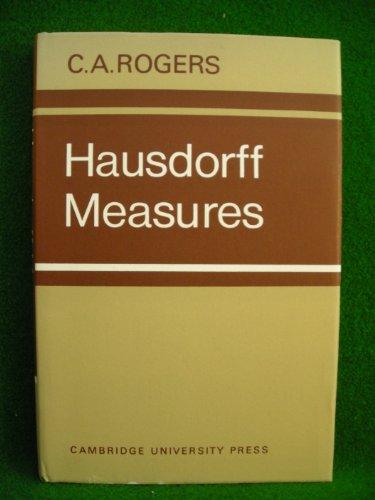 9780521079709: Hausdorff Measures