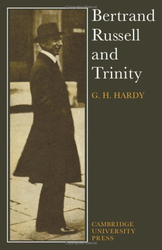 9780521079785: Bertrand Russell and Trinity