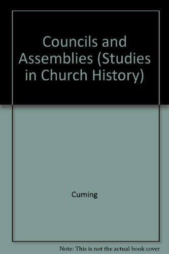 9780521080385: Councils and Assemblies (Studies in Church History)