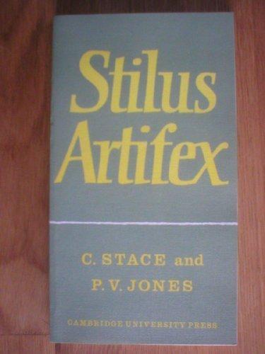 Stilus Artifex (0521081432) by Christopher Stace; Peter V. Jones