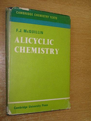 9780521082167: Alicyclic Chemistry (Cambridge Texts in Chemistry and Biochemistry)