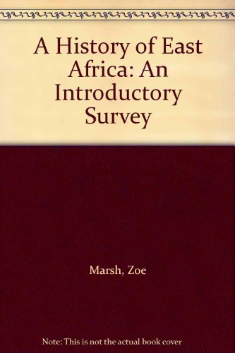 9780521083485: A History of East Africa: An Introductory Survey