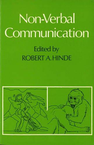 9780521083706: Non-verbal Communication