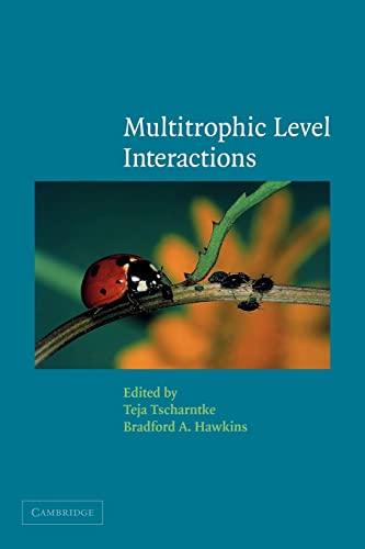 9780521084185: Multitrophic Level Interactions