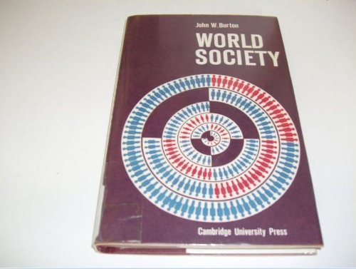 9780521084253: World Society
